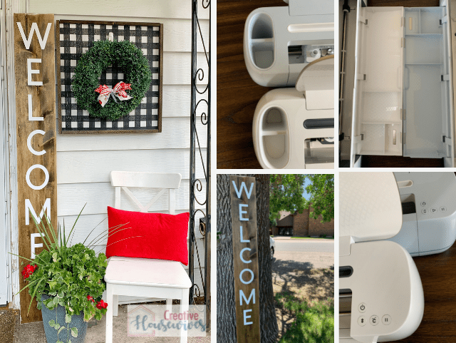 Welcome Sign with Cricut Maker 3 - header