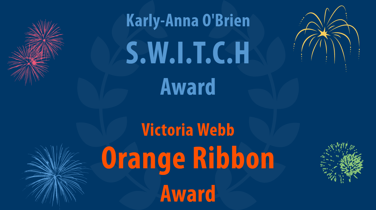 SWITCH and Orange Ribbon Award