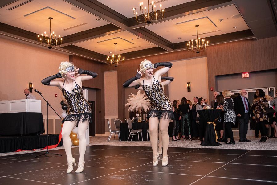 Honeytaps group dances at Hyatt Place Riverfront Wilmington
