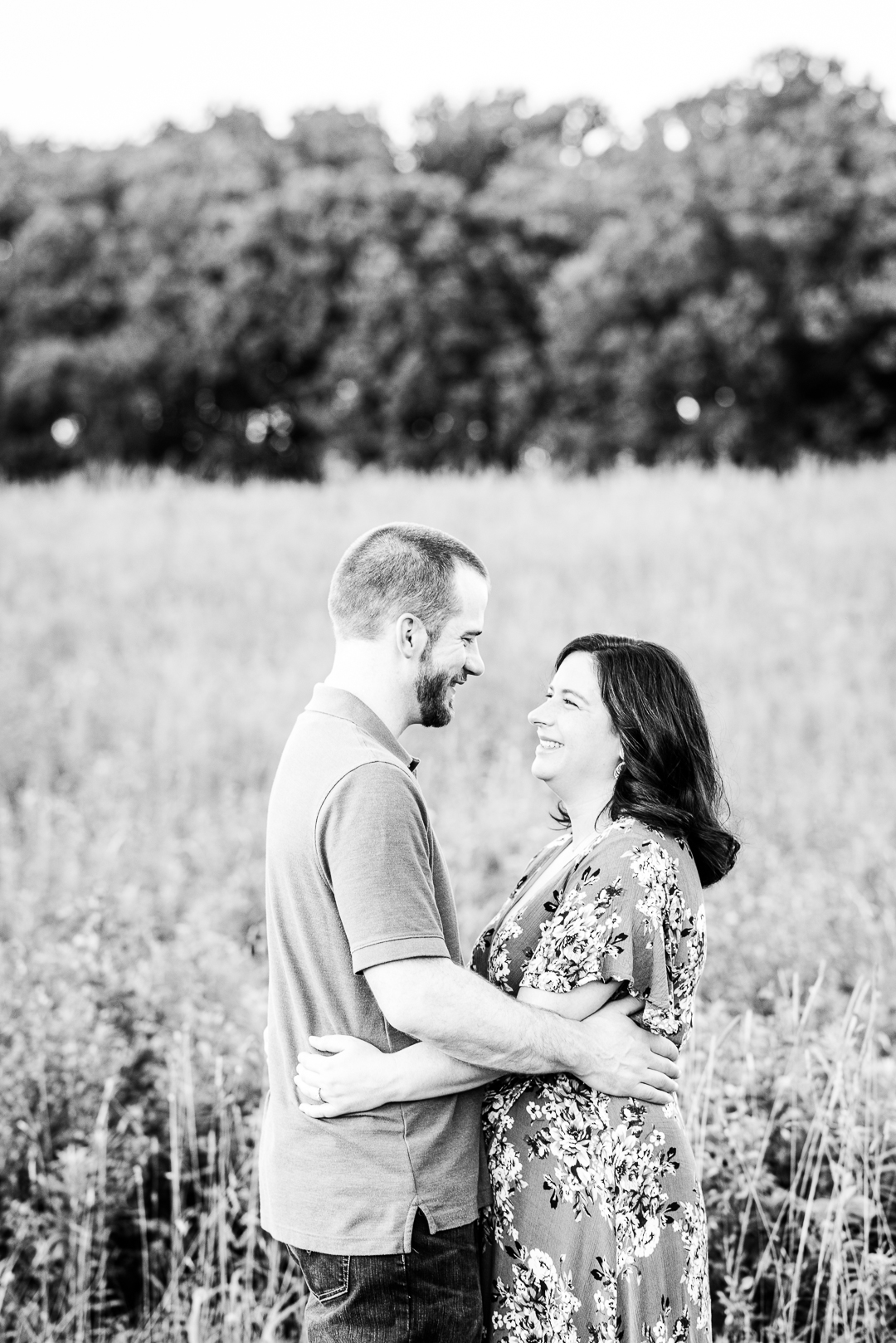 Delaware engagement session in summer