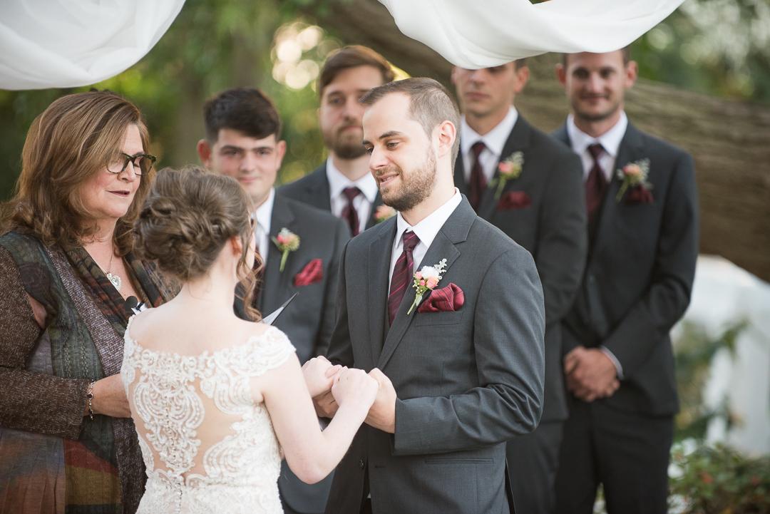 October wedding in Delaware