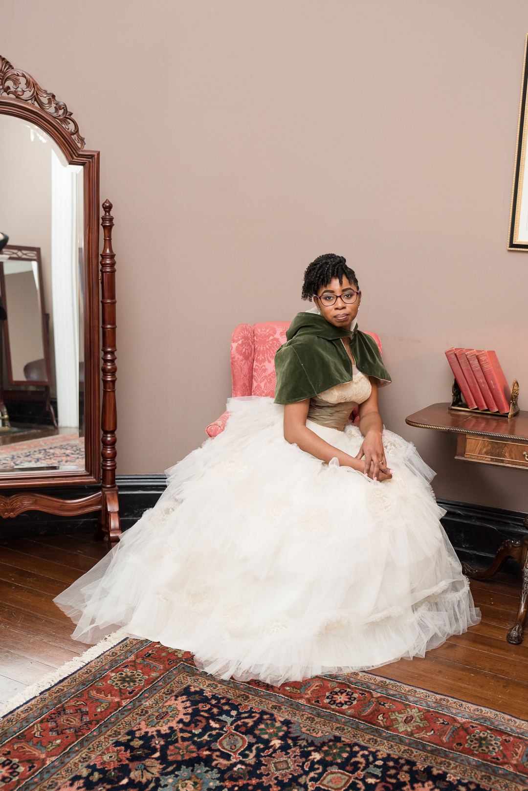 bridal portrait Bellevue Hall