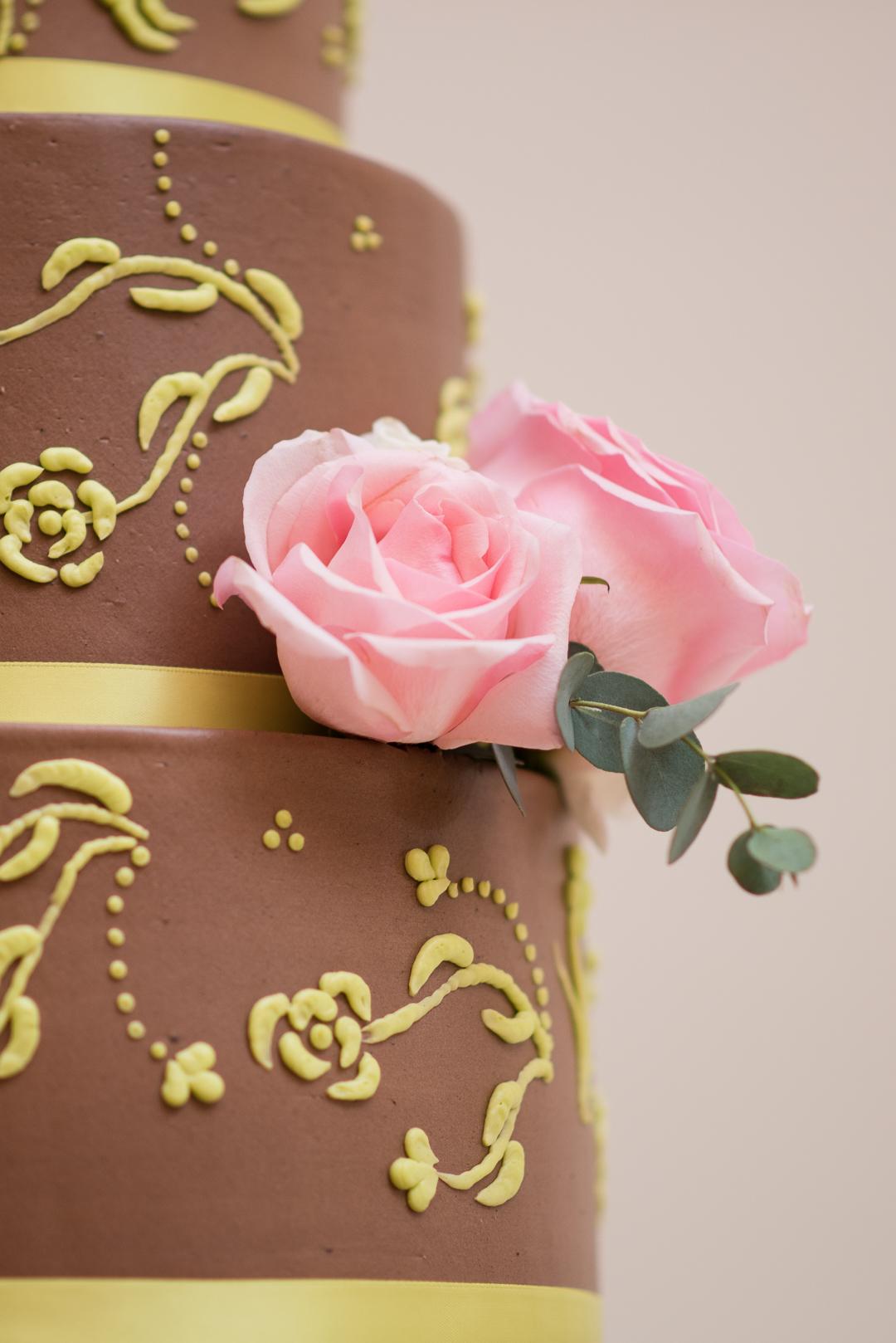 wedding cake at Whist club