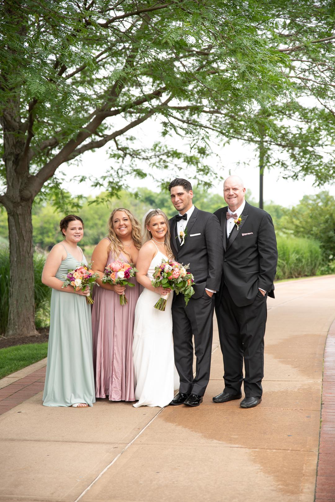Riverfront Events bridal party