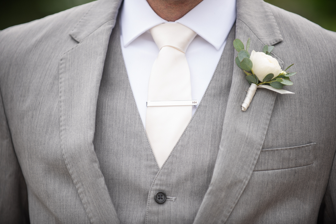 wedding tie clip