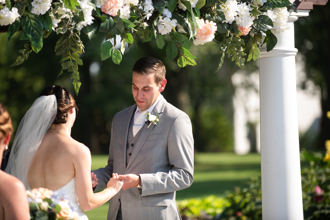 Downingtown Country Club wedding ceremony