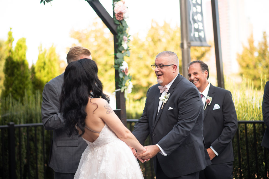 Fall Wedding at Riverfront Events