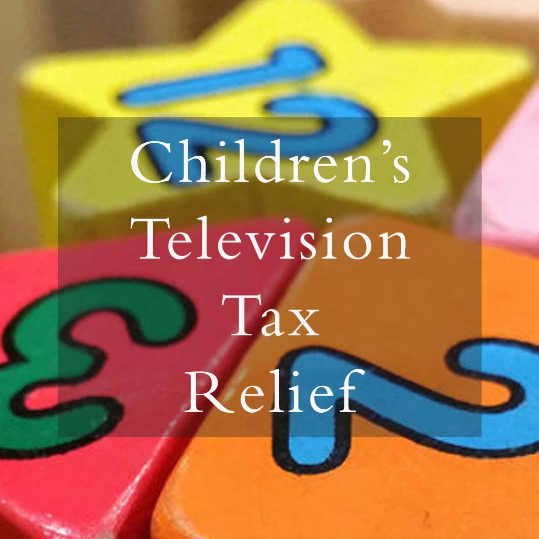 Children's TV Tax Relief