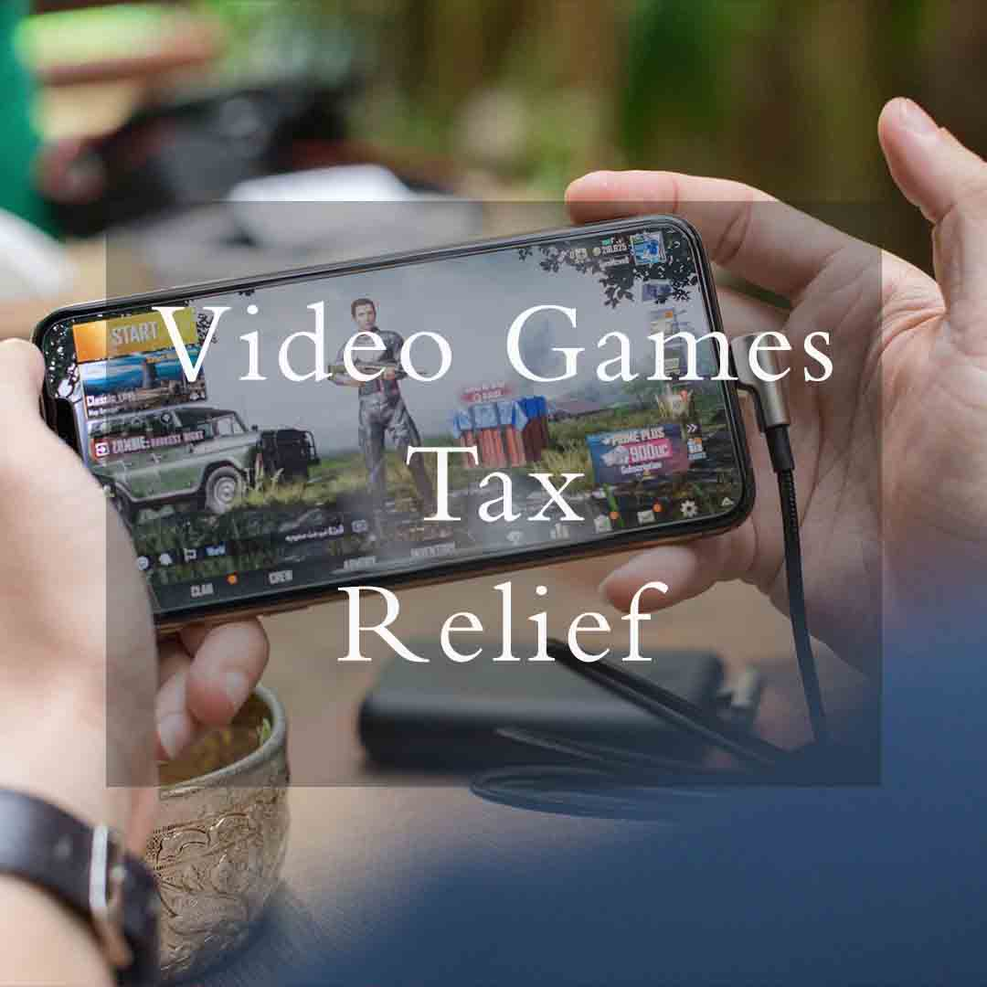 Video games tax Relief