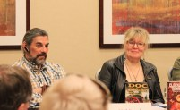 Panel with Linda and others