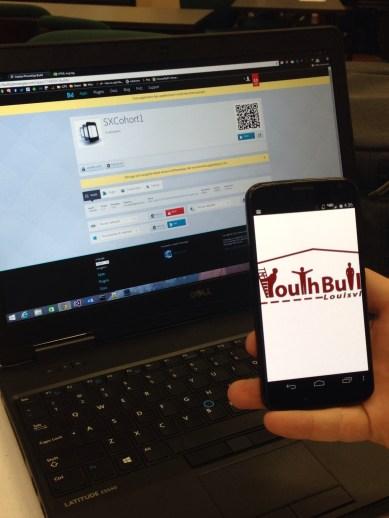 YBL logo referenced and phone ready