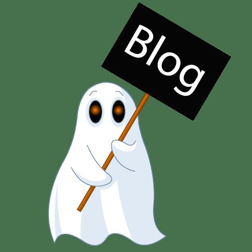 ghost blogging