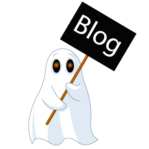 ghost blogging