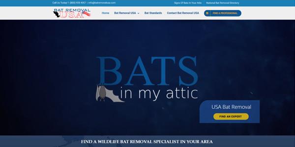Bat Removal USA Website