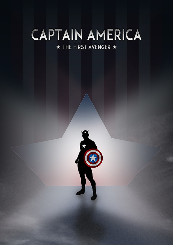 Captain America Poster Design