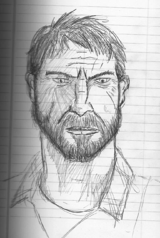 Joel rough sketch