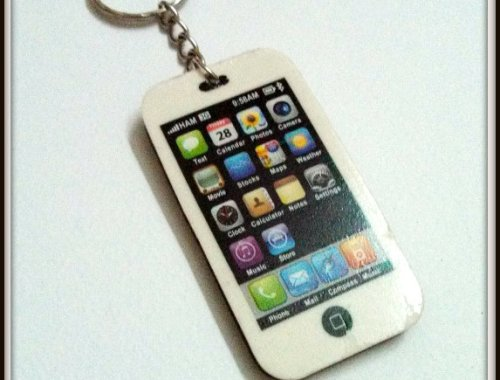 iphone keychain making tutorial