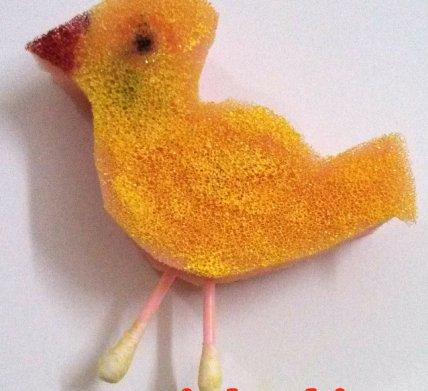 foam bird making tutorial