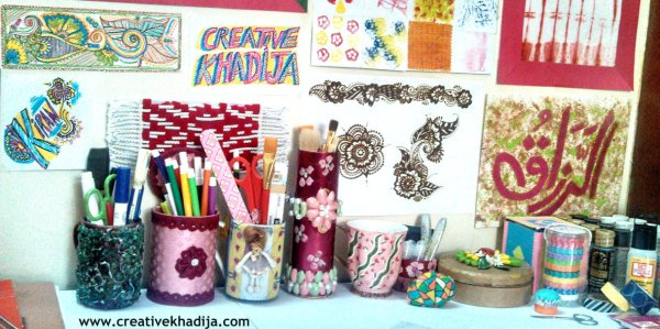 creativekhadija work place