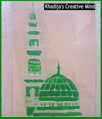 masjid nabwi sketch