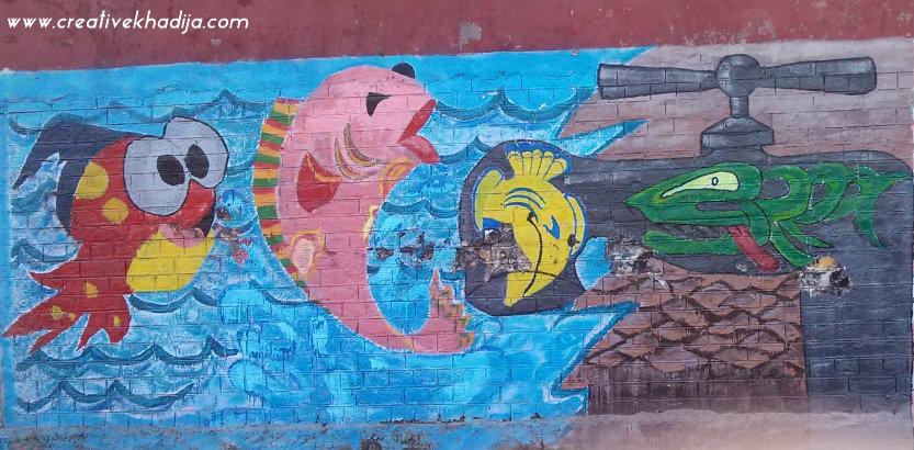 street graffiti art pakistan