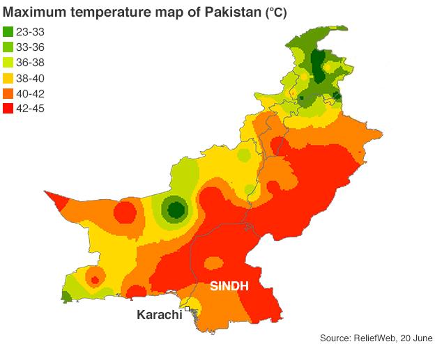 Pakistan deadly heatwave, Death toll crosses 750 people in Sindh