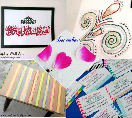 Creative Khadija Recap Of The Year 2015