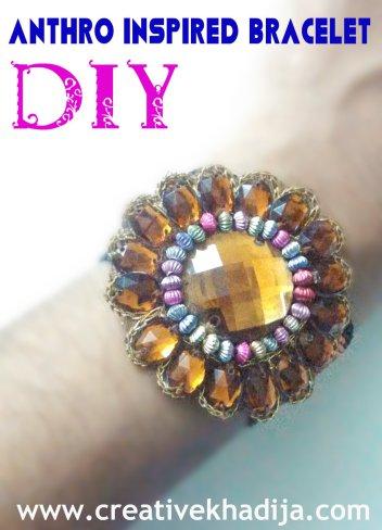 Anthro inspired bracelet tutorial