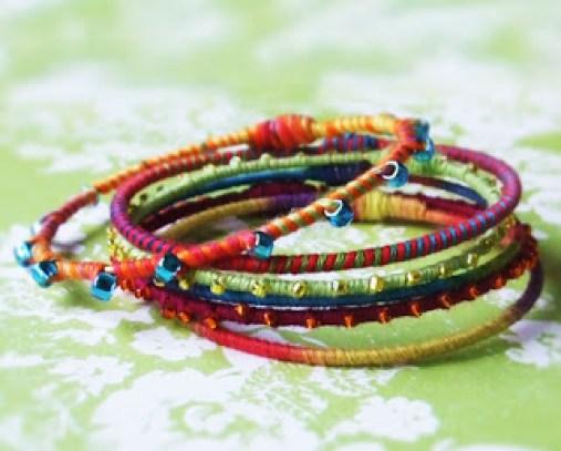DIY-rainbow-bangles