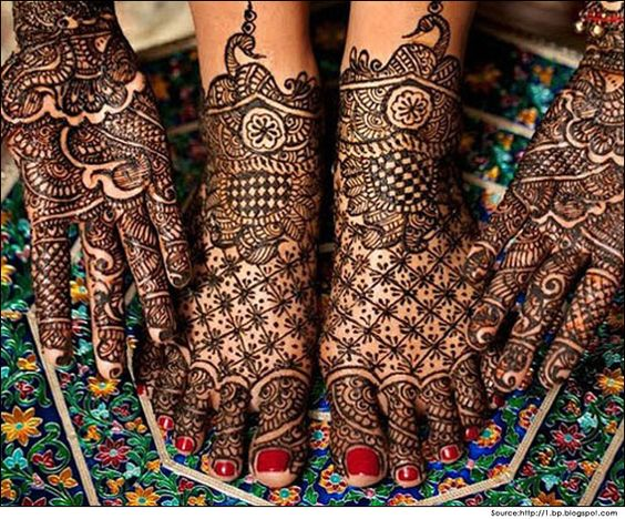 arabic bridal mehndi