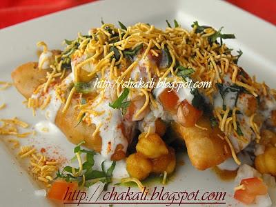 eid recipe samosa chaat