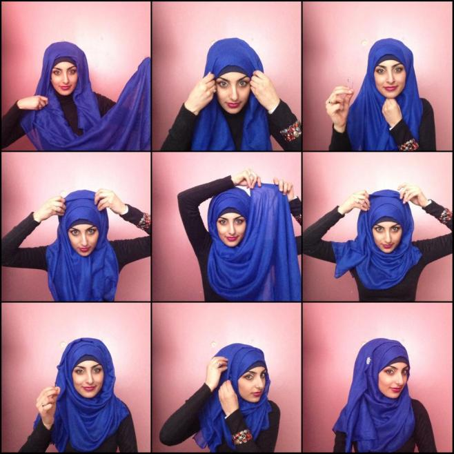 Easy & Fashionable Hijab styles for girls