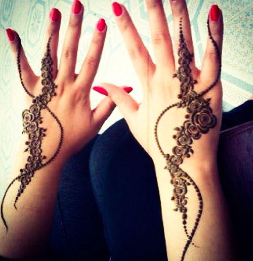 mehndi design for hands 1