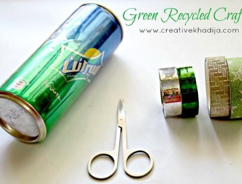 Tin Can Kids Crafts Idea-Azadi Crafts Series