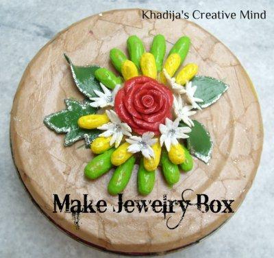 how to decoupage jewelry box