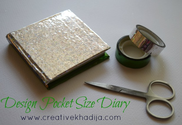 kids pocket size diary tutorial independence day crafts ideas