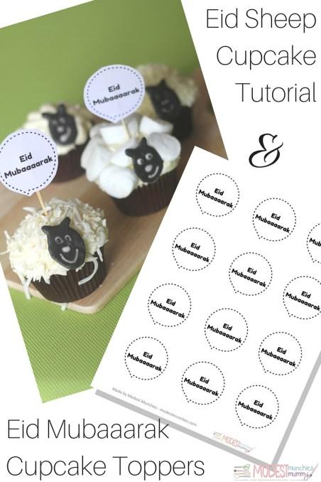 eid sheep cupcake yummy ideas