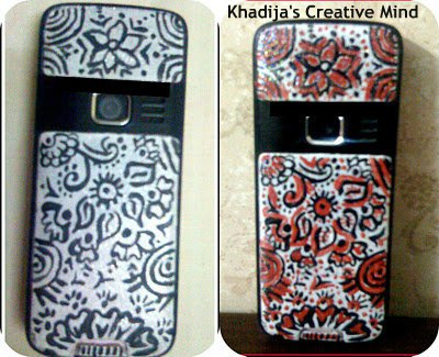 cell casing design and painting ideas