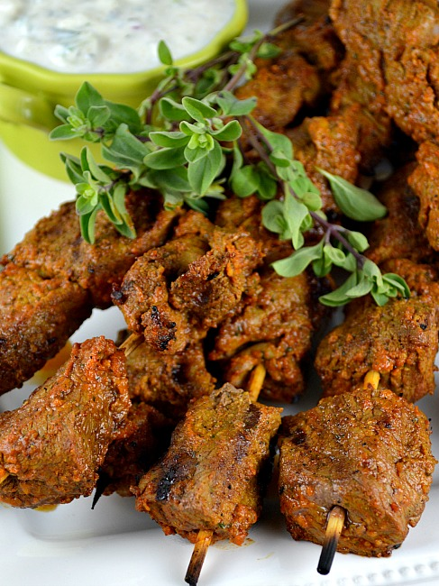 eid recipe spiced beef boti