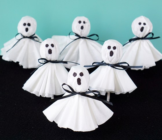 fall and halloween ideas for kids ghosts
