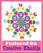 proudly featured on creative khadija blog