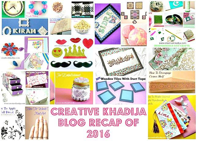 recap of the year 2017 blog creativekhadija