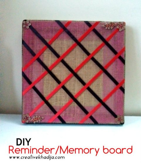 DIY memory board making