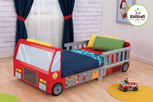 fire truck bed for boys