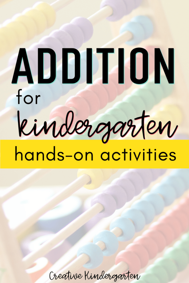 Looking for new addition centers for your kindergarten classroom? Find two new hands-on activities to reinforce adding skills.