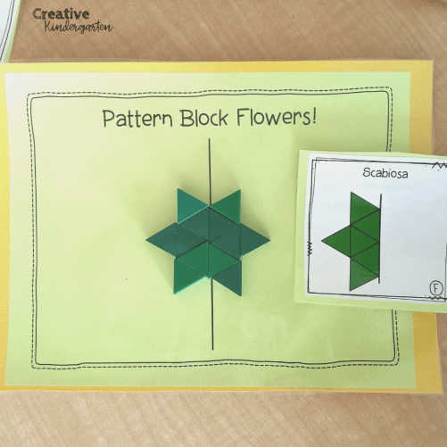 Symmetry Center: Practice symmetry skills with this fun and engaging math center. Students love recreating flowers along the line of symmetry.