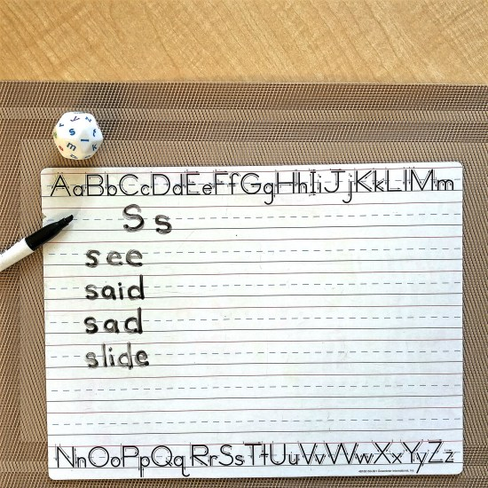 Reinforce literacy skills with these fun, hands-on activities. Students will practice letter recognition and letter formations while using this fun manipulative and whiteboards