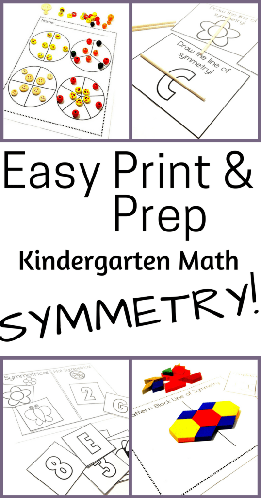 Copy of Copy of Easy Print & Prep Symmetry- Pinterest