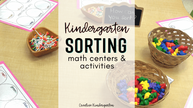 kindergarten sorting activities: reinforce sorting skills with these hands-on math centers. Sort by different attributes and rules, and use different materials.