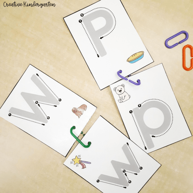 Linking Alphabet Cards